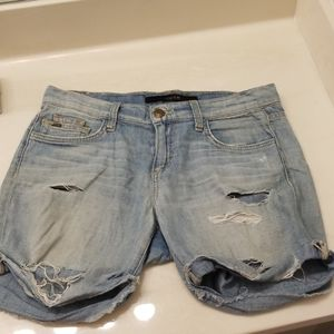 Joes destroyed shorts